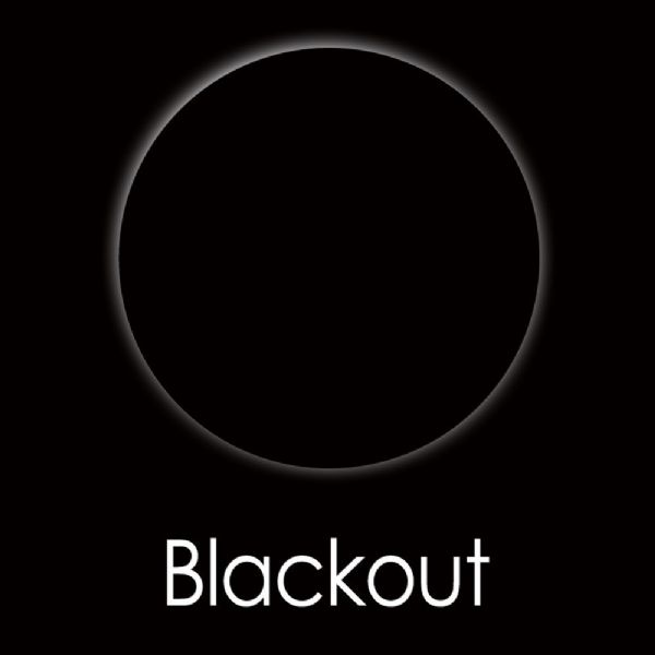 Black Out Contact Lens